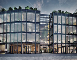 Biuro w inwestycji Kalwaryjska 33, Kraków, 354 m²
