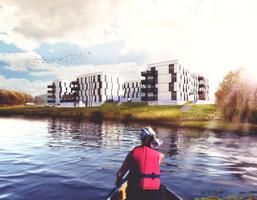 Mieszkanie w inwestycji Aurinia, Biedrusko, 49 m²