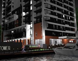 Mieszkanie w inwestycji River Tower, Bydgoszcz, 70 m²