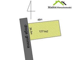 Działka na sprzedaż, Łysiec, 1271 m²