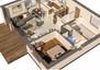 Dom na sprzedaż, Skubianka, 92 m² | Morizon.pl | 2215 nr6
