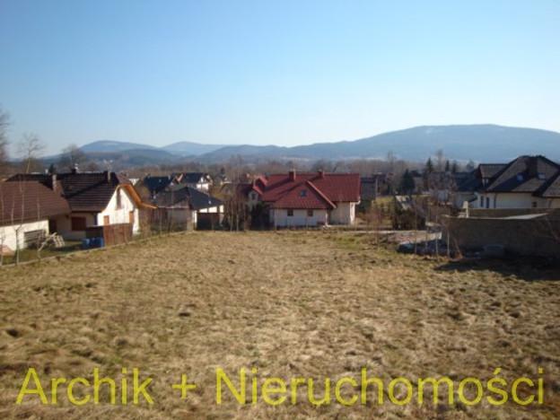 Działka na sprzedaż, Myślenice, 900 m² | Morizon.pl | 0596