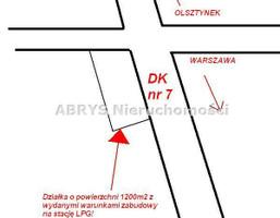 Działka na sprzedaż, Kanigowo, 1200 m²