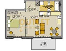 Mieszkanie na sprzedaż, Warzymice, 44 m²