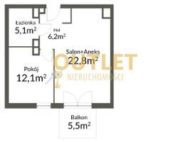Mieszkanie na sprzedaż, Szczecin Pogodno, 46 m²