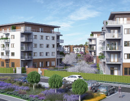 Mieszkanie w inwestycji Bunscha Park, Kraków, 40 m²