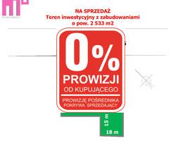 Działka na sprzedaż, Tychy Wilkowyje, 2533 m²