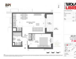 Mieszkanie w inwestycji WOLA LIBRE, Warszawa, 43 m²