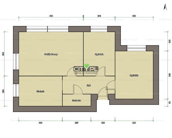 Mieszkanie na sprzedaż, Pruszków Lipowa, 48 m² | Morizon.pl | 2603