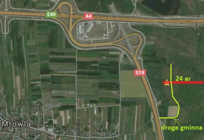 Działka na sprzedaż, Mrowla, 2400 m² | Morizon.pl | 9791