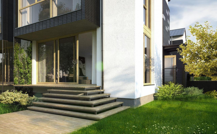 Dom w inwestycji Willa Blanca przy PARKU CIETRZEWI..., Warszawa, 190 m² | Morizon.pl | 5497