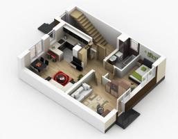 Mieszkanie w inwestycji Mieszkania SKR, Kąty Wrocławskie (gm.), 60 m²