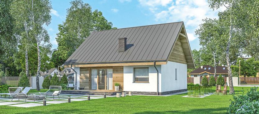 Dom na sprzedaż, Skubianka, 92 m² | Morizon.pl | 1834