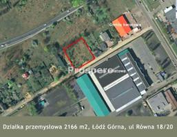 Działka na sprzedaż, Łódź Ruda, 2166 m²