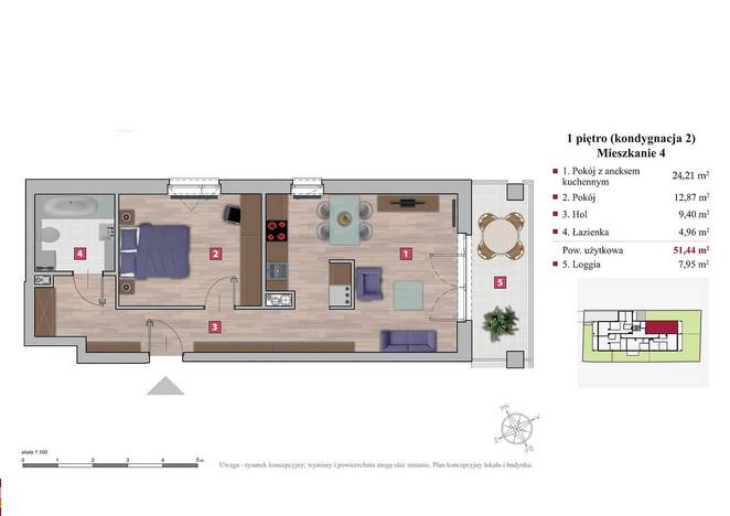 Mieszkanie na sprzedaż, Warszawa Ochota, 51 m² | Morizon.pl | 1224