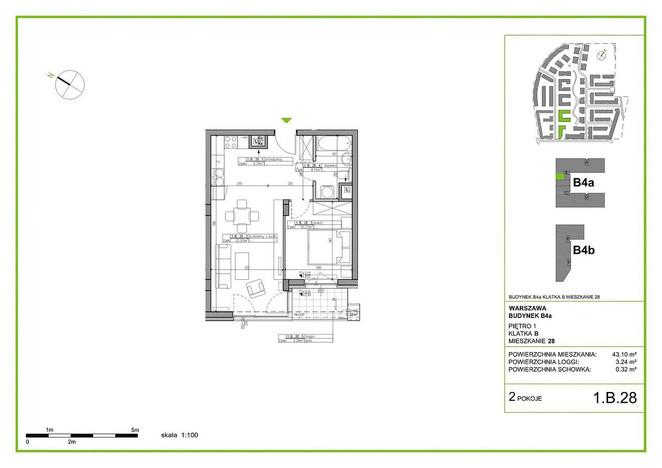 Mieszkanie na sprzedaż, Warszawa Błonia Wilanowskie, 43 m² | Morizon.pl | 8170