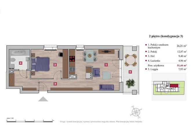 Mieszkanie na sprzedaż, Warszawa Ochota, 51 m² | Morizon.pl | 1812
