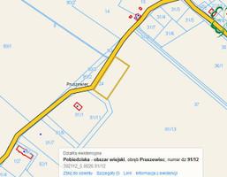 Działka na sprzedaż, Pruszewiec Skorzęcin, 858 m²