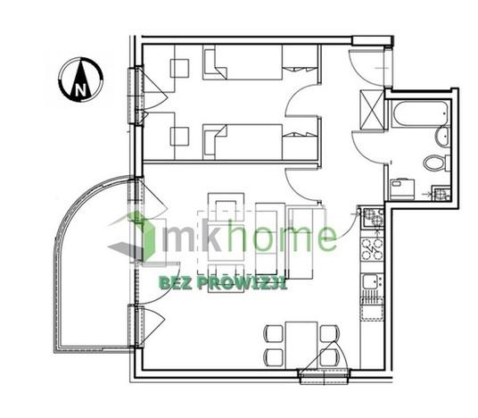 Mieszkanie na sprzedaż, Kraków Os. Prądnik Czerwony, 52 m²   Morizon.pl   5338