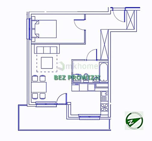 Mieszkanie na sprzedaż, Kraków Os. Ruczaj, 47 m² | Morizon.pl | 7778