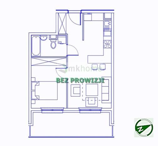 Mieszkanie na sprzedaż, Kraków Os. Ruczaj, 40 m² | Morizon.pl | 7744