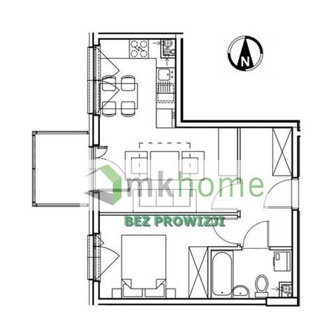 Mieszkanie na sprzedaż, Kraków Os. Prądnik Czerwony, 38 m²   Morizon.pl   5322