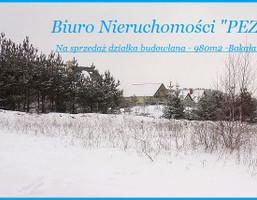 Działka na sprzedaż, Bakałarzewo Leśna, 980 m²
