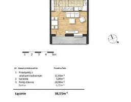 Mieszkanie w inwestycji Osiedle Słoneczne, Bydgoszcz, 39 m²