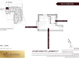 Mieszkanie w inwestycji Apartamenty Korona, Kraków, 31 m²
