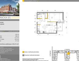 Mieszkanie w inwestycji Prądnicka 65, Kraków, 40 m²