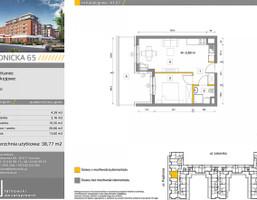 Mieszkanie w inwestycji Prądnicka 65, Kraków, 39 m²