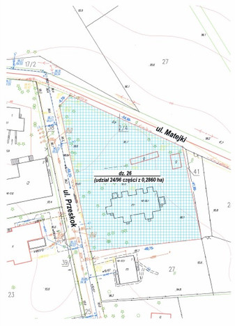 Działka na sprzedaż, Józefów Matejki, 715 m² | Morizon.pl | 2959