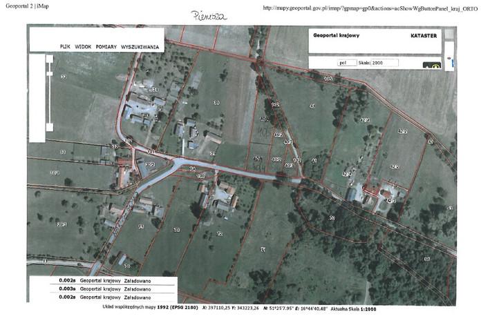 Działka na sprzedaż, Pierusza, 1726 m²   Morizon.pl   1083