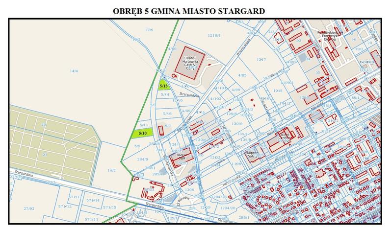 Działka na sprzedaż, Stargard Szczeciński, 4357 m² | Morizon.pl | 5263