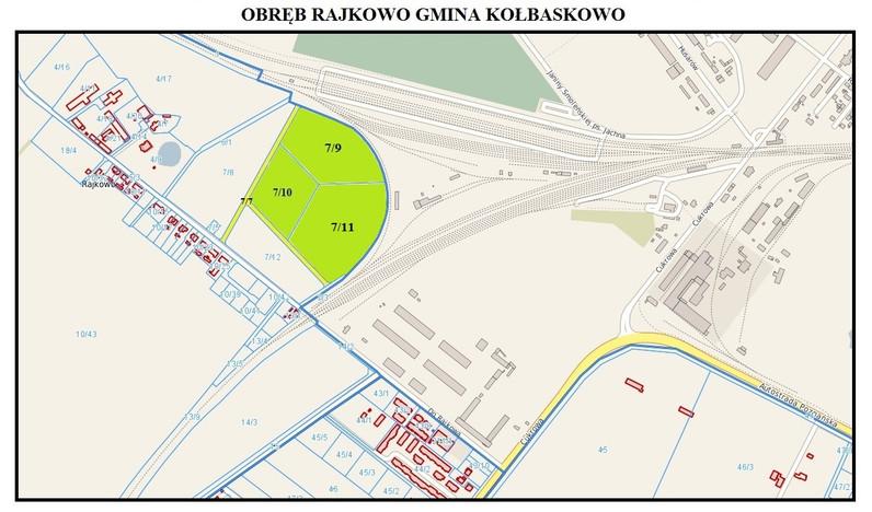 Działka na sprzedaż, Rajkowo, 26161 m² | Morizon.pl | 5102