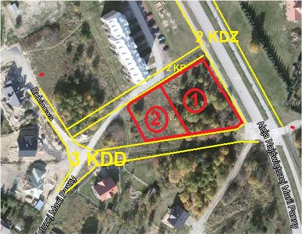 Działka na sprzedaż, Starachowice Rubinowa, 823 m² | Morizon.pl | 5163