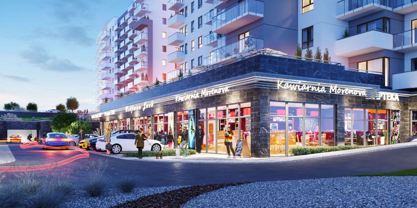 Komercyjne w inwestycji Morenova, Gdańsk, 118 m² | Morizon.pl | 4607