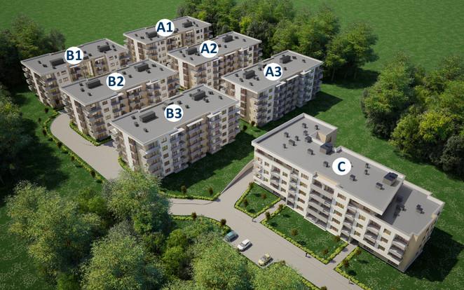 Morizon WP ogłoszenia | Mieszkanie w inwestycji Mała Góra, Kraków, 64 m² | 4325