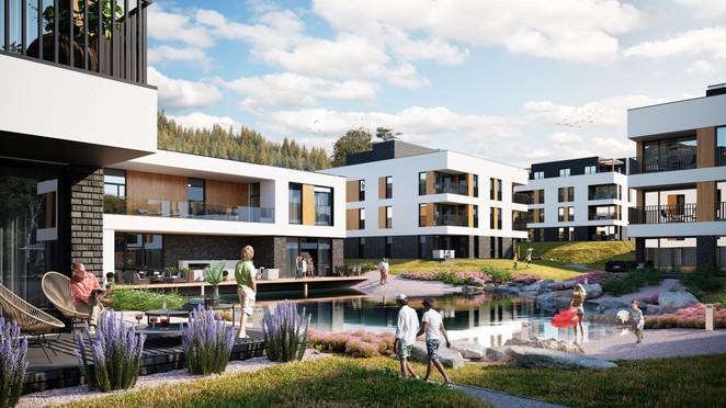 Morizon WP ogłoszenia | Mieszkanie w inwestycji Wisełka Apartamenty i Spa, Wisła, 52 m² | 3306