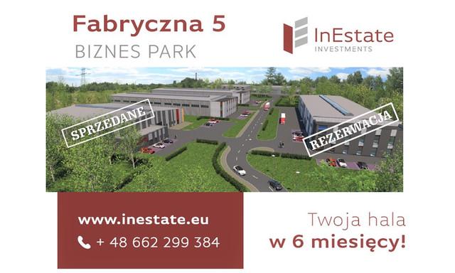 Magazyn, hala na sprzedaż <span>Mysłowice, Brzezinka, Fabryczna 5a</span>