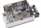 Mieszkanie w inwestycji KAPITAŃSKI MOSTEK, Kołobrzeg, 54 m²   Morizon.pl   4653 nr9