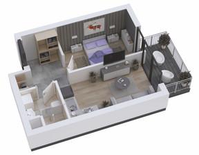 Mieszkanie w inwestycji KAPITAŃSKI MOSTEK, Kołobrzeg, 49 m²