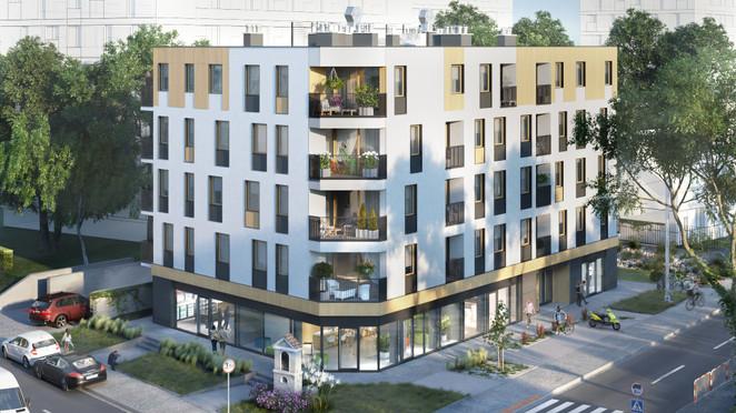 Morizon WP ogłoszenia | Lokal usługowy w inwestycji Stachiewicza 28, Kraków, 85 m² | 2602