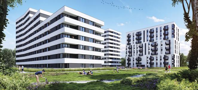 Morizon WP ogłoszenia | Mieszkanie w inwestycji Piasta Park II, Kraków, 48 m² | 0423