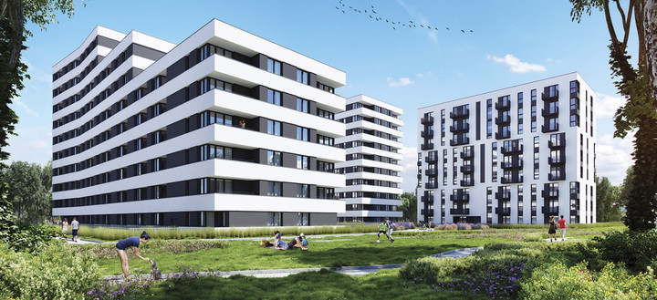 Morizon WP ogłoszenia | Nowa inwestycja - Piasta Park II, Kraków Mistrzejowice, 47-87 m² | 7842