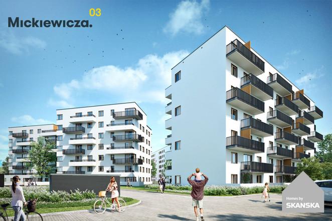 Morizon WP ogłoszenia | Mieszkanie w inwestycji Mickiewicza 4, Warszawa, 29 m² | 3909
