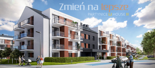 Morizon WP ogłoszenia | Mieszkanie w inwestycji PARTYNICE HOUSE, Wrocław, 44 m² | 3384