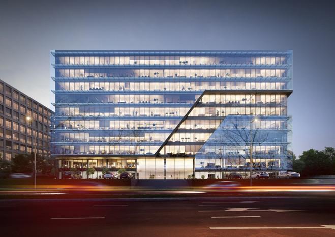 Biuro w inwestycji Tischnera Office, Kraków, 1258 m²   Morizon.pl   8509
