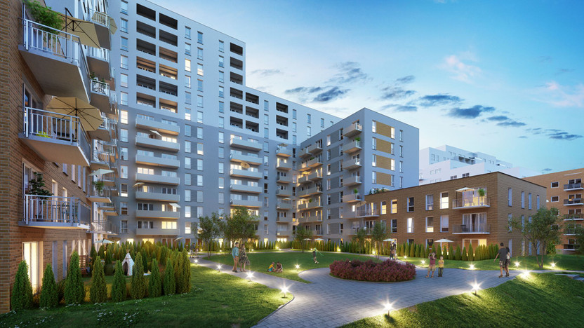 Mieszkanie w inwestycji Murapol Dębowe Tarasy, Katowice, 31 m² | Morizon.pl | 3706