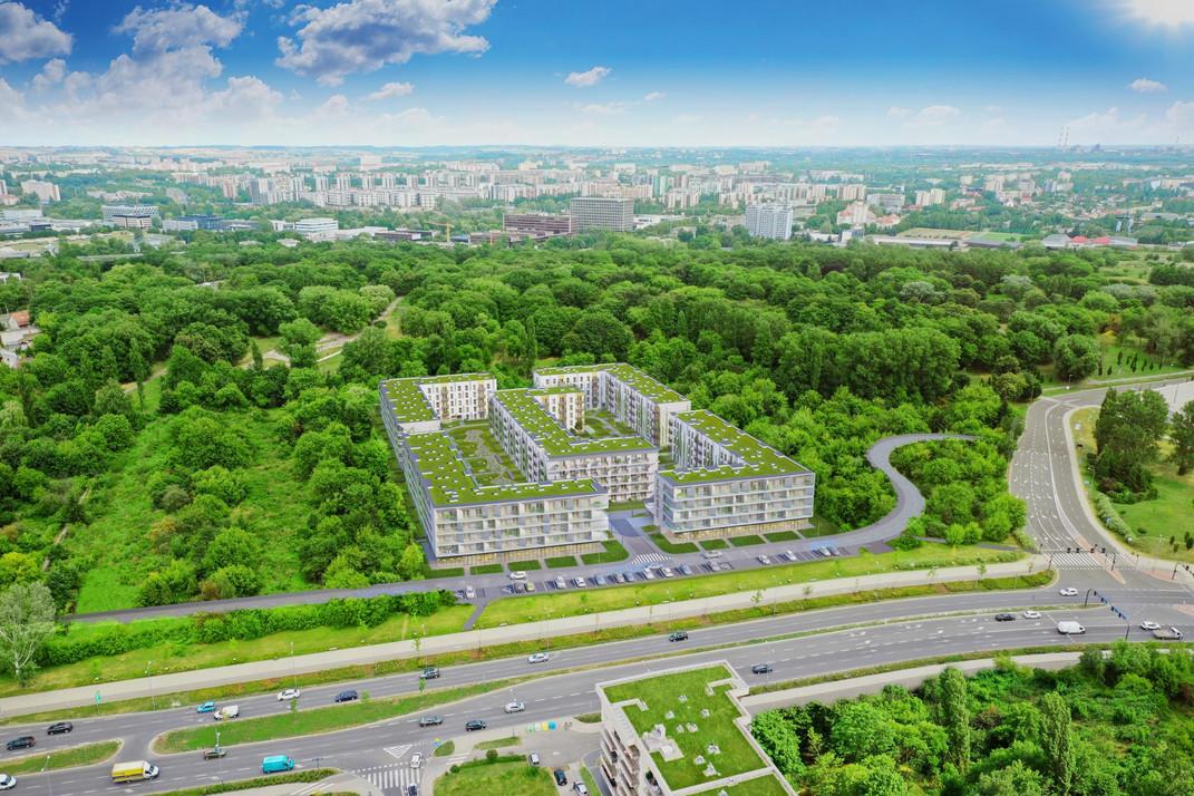 Nowa inwestycja - Solaris Park, Kraków Grzegórzki | Morizon.pl
